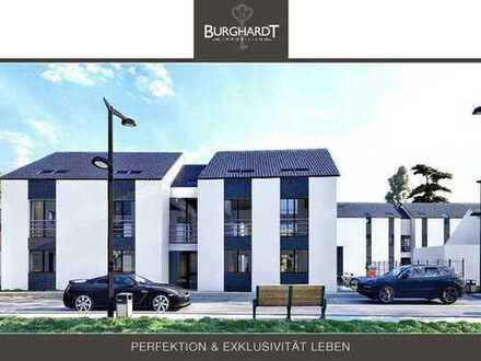 Darmstadt - Wixhausen: 4-Zimmerwohnung im Erdgeschoss mit Gartenanteil &Terrasse