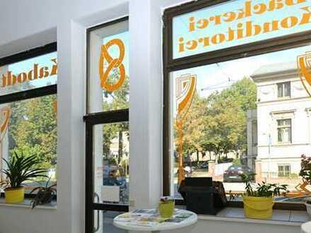 Ihr neues Business am Park Sanssouci - Büro mit großer Schaufensterfläche und großer Lagerfläche
