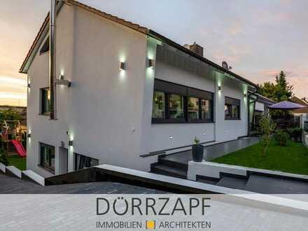 Wiernsheim: kernsaniertes Einfamilienhaus mit Einliegerwohnung in Bestlage