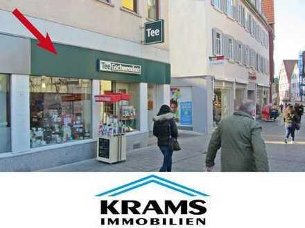 Kleine, attraktive Ladeneinheit in der Reutlinger Katharinenstraße!