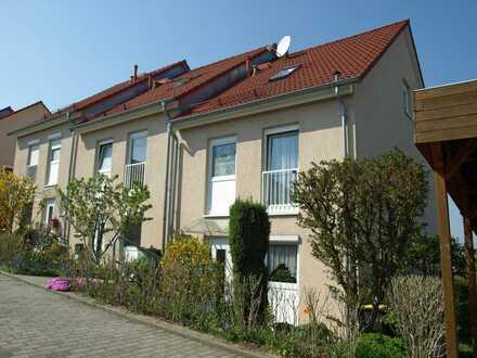 Modernisiertes Reihenendhaus mit Garten und EBK mit Blick über Dresden