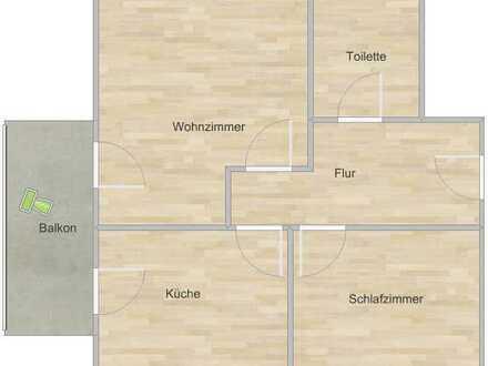 - Luxuriöse 2-Zimmer-Wohnung mit Balkon, Küche und Kaminofen -