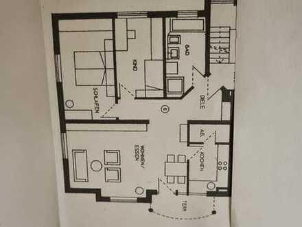 Exklusive, gepflegte 3-Zimmer-Wohnung mit Balkon und Einbauküche in Meersburg