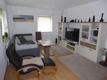 Renovierte 1 ZKB Wohnung mit Balkon und EBK in Wiesloch Nähe Zentrum