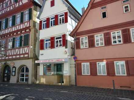 Ladenfläche in der Altstadt von Leonberg sucht neuen Mieter