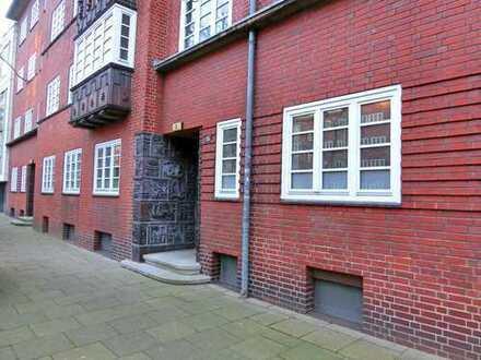 Gängeviertel haut nah! 126 m² Wohn-/Nutzfläche im kultigen Rotklinker!