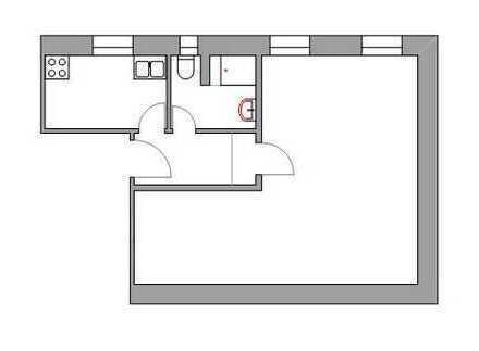 Gemütliche 1 Zimmerwohnung in der Regensburger Altstadt