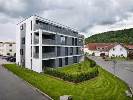 freundliche 3-Zimmer-Wohnung mit Einbauküche und Terrasse in Stühlingen