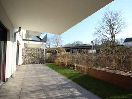 Erstbezug im Hofheimer Zentrum: Großzügige 3-Zi-Wohnung mit XXL-Terrasse