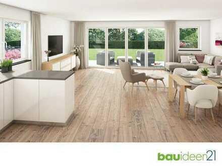 Die Alternative zum Haus - 5-Zi.-Whg. mit 123 m² Wfl., großem Garten (360m²), Bad en Suite uvm.
