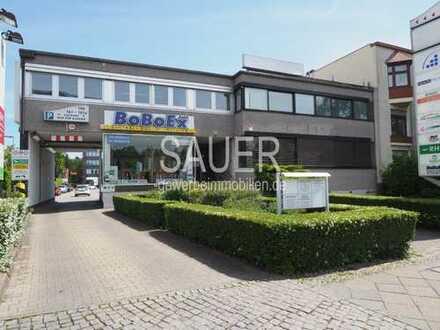 150 m² - Büro-/Praxiseinheit an Hauptverkehrsstraße