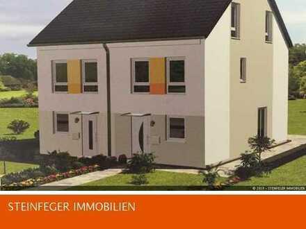 Bingen: Hier entsteht 1 modernes Doppelhaus in Münster-Sarmsheim !