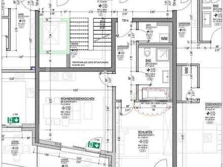 Erstbezug: exklusive 2-Zimmer-Wohnung mit Balkon in Weißenburg