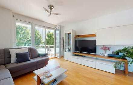 ROGERS: Neuwertige Wohnung mit 2 Balkonen und hochwertiger Ausstattung