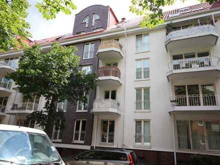 vermietete 2-Zimmer-Eigentumswohnung nebst Tiefgaragenstellplatz in Hamburg-Hamm-Mitte