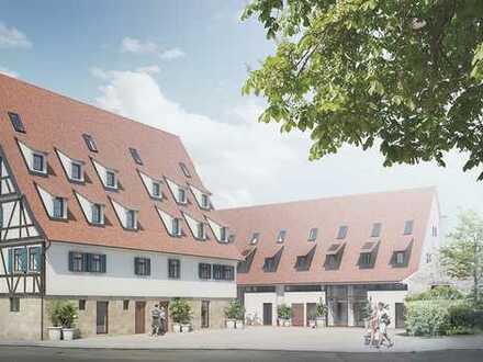#Kaffeeberghöfe Herrenberg #altersgerecht #Sonder-AfA #Denkmalsanierung #Erdgeschoss #Terrasse