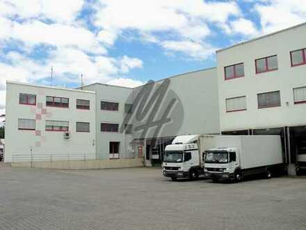 KEINE PROVISION ✓ RAMPE + EBEN ✓ NÄHE BAB ✓ Lager-/Logistik (7.800 m²) & Büro (350 m²) zu vermieten