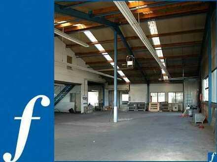 Halle mit Lager- und Büroflächen * 4 ebenerdige Tore * PROVISIONSFREI