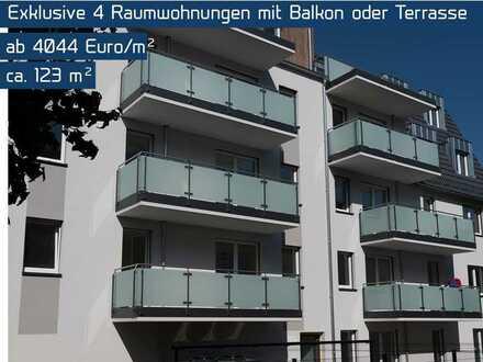 Provisionsfrei // Exklusive 4-Zimmer-Eigentumswohnung mit Balkon // Effizienzhaus 55
