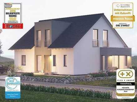 Bauen Sie ein 2 Familienhaus im Grünen mit dem Ausbauhausmarktführer