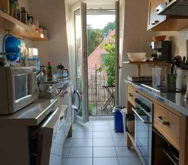 Bright, furnished room in central location close to the Turmberg / Helles, möbliertes Zimmer am Turm