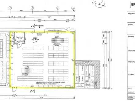 Gewerbefläche mit 38 Pkw-Stellplätze