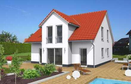 Sehr ruhige Randlage! Neubau 5-Zimmer-Haus, Hausanschlüsse, Bodenbeläge, Baunebenkosten