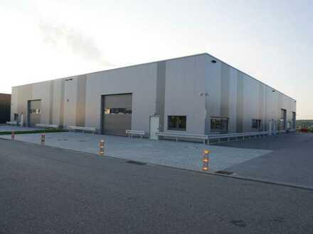 NEUBAU ** Industriegebiet Weil im Schönbuch ** Lagerhalle/Werkstatt ** bei Bedarf mit Büro **