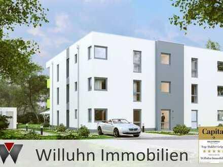 NEUBAU 4% RENDITE - Luxus-Mehrfamilienhaus, barrierefrei, Riesengrundstück nahe See, Kamine