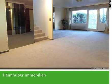 Geräumiges Reiheneckhaus in Bogenhausen / Zwei Wohnungen ergeben ein Haus.