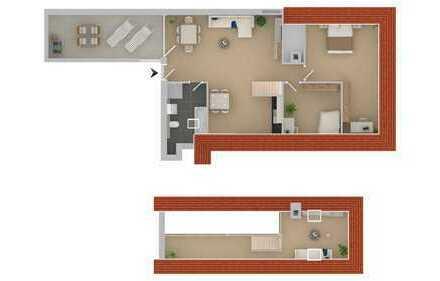 WE07: 4 Zimmer mit Loggia und Galerie