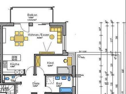 Schöne, geräumige drei Zimmer Wohnung in Oberderdingen