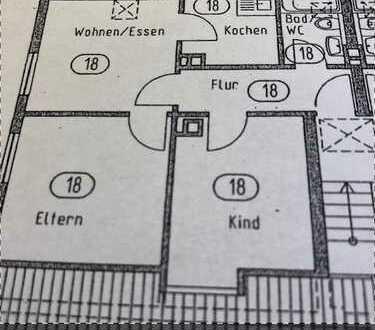 Schöne, gepflegte 3-Zimmer-DG-Wohnung zum Kauf in Kenzingen - Kernstadt