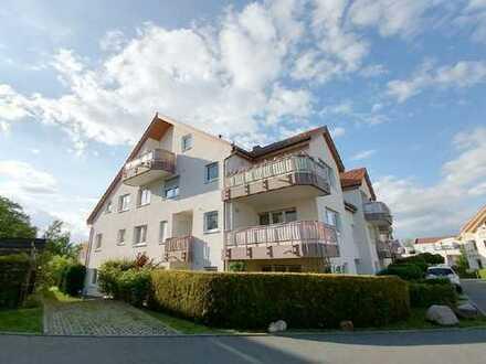 Bannewitz: geräumige 2,5-Zimmer-Wohnung mit Balkon in ruhiger Wohngegend!