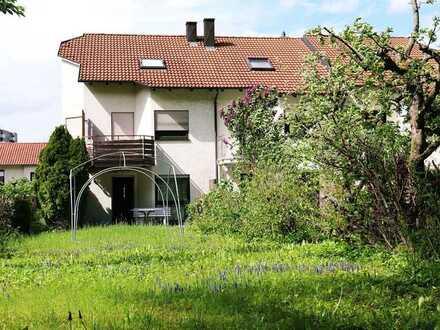 Reiheneckhaus in Waldrandlage