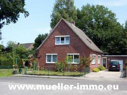 Solides Einfamilienhaus im Zentrum in Hesel, in Sackgassenlage! M1808