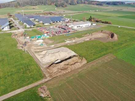 18.000 m² Gewerbefläche • direkt an A96 • auch Parzellen erhältlich