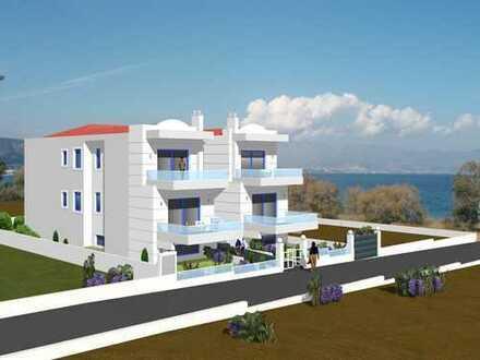 Eigentumswohnung mit Meerblick in Strandnähe - Korfos /Saronischer Golf
