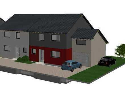 ***Neubau Doppelhaushälfte mit Garage und Stellplatz, KfW 55***