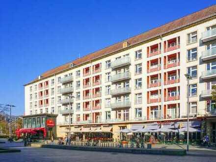 www.r-o.de +++ Wohnen, wo das Leben pulsiert - Sonnige 3-Zimmerwohnung mit Balkon in der City