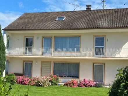 4-Zi-Wohnung 112m², OG, mit Balkon und Gartenanteil