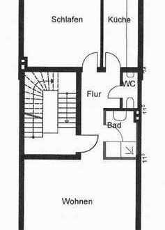 Erstbezug nach Kernsanierung, 2 Zi. Wohnung, Süd-West Balkon, neue Einbauküche, neues Duschbad.