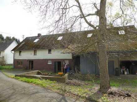 Ehemaliges Bauernhaus mit Scheune in Randlage