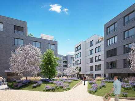 Erstklassige 2 Zimmer Wohnung im exklusiven Neubau mit Einbauküchen!