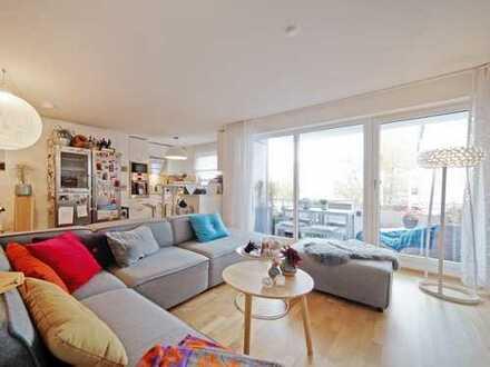 Mehr Platz fürs Leben. Neuwertige 5-Zimmer-Wohnung   Direkt am Amalienwald