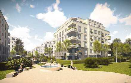 Helle, moderne Wohnung mit Privatgarten - Erstbezug