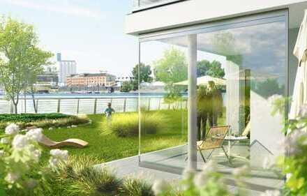 Exklusives Wohnen, direkt am Wasser ! Erstbezug nach Baufertigstellung - JOY am Ufer