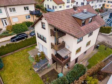 ERSINGEN - RAUMWUNDER mit BIOWÄRME - gepflegtes 2 Familienhaus in ruhiger Ortsrandlage