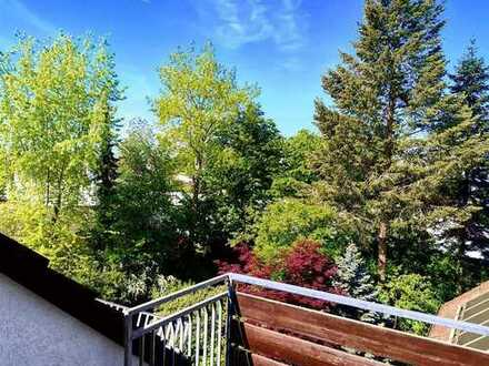Grandiose Aussicht – grandiose Wohnung 3-Zimmer-Dachgeschosswohnung + Balkon + 2 Bäder