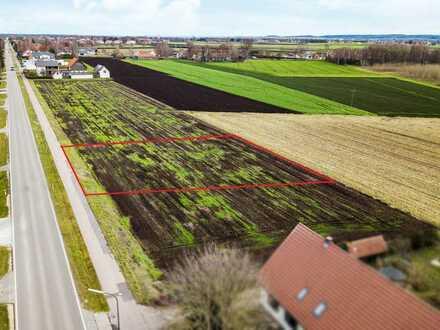 Baugrundstück im Grünen